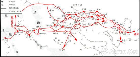 广州律师网 媒体报道    丝绸之路是一条横贯亚洲,连接欧亚大陆的著名